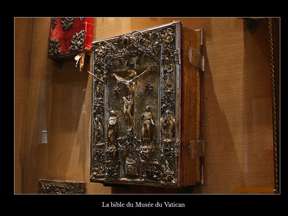 La bible du Musée du Vatican
