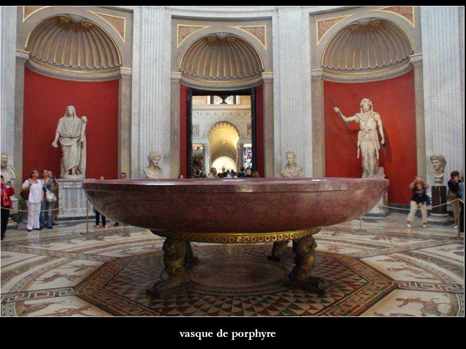 vasque de porphyre