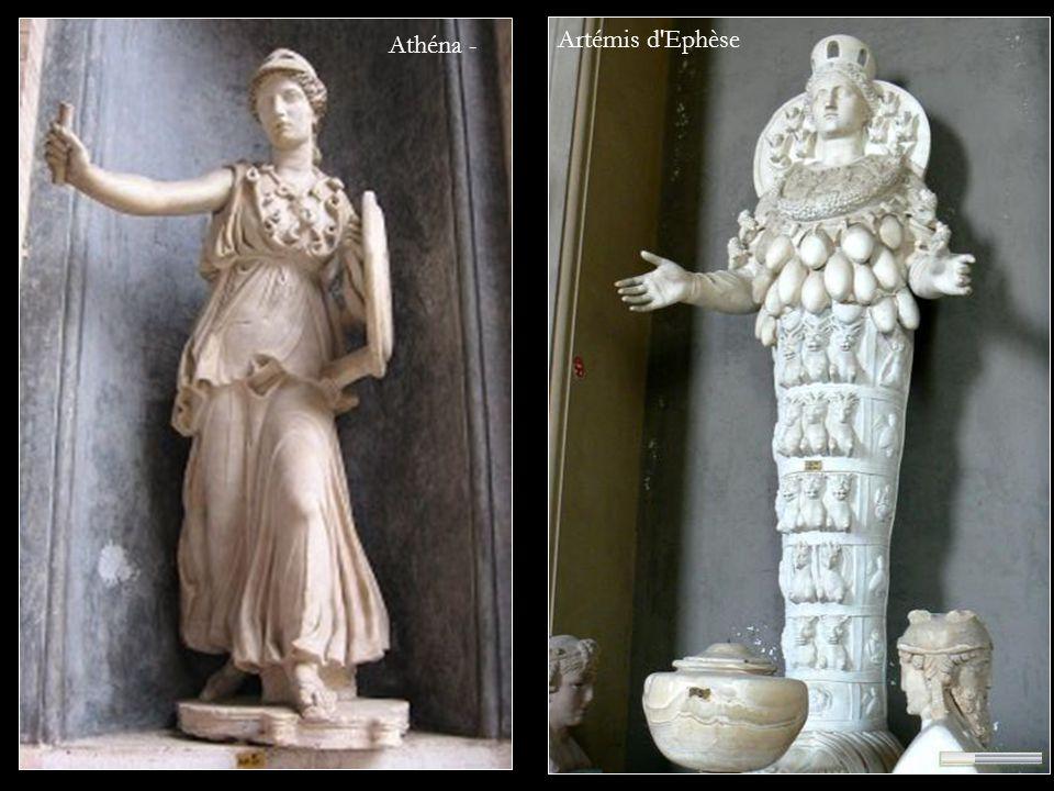Artémis d'Ephèse Athéna -