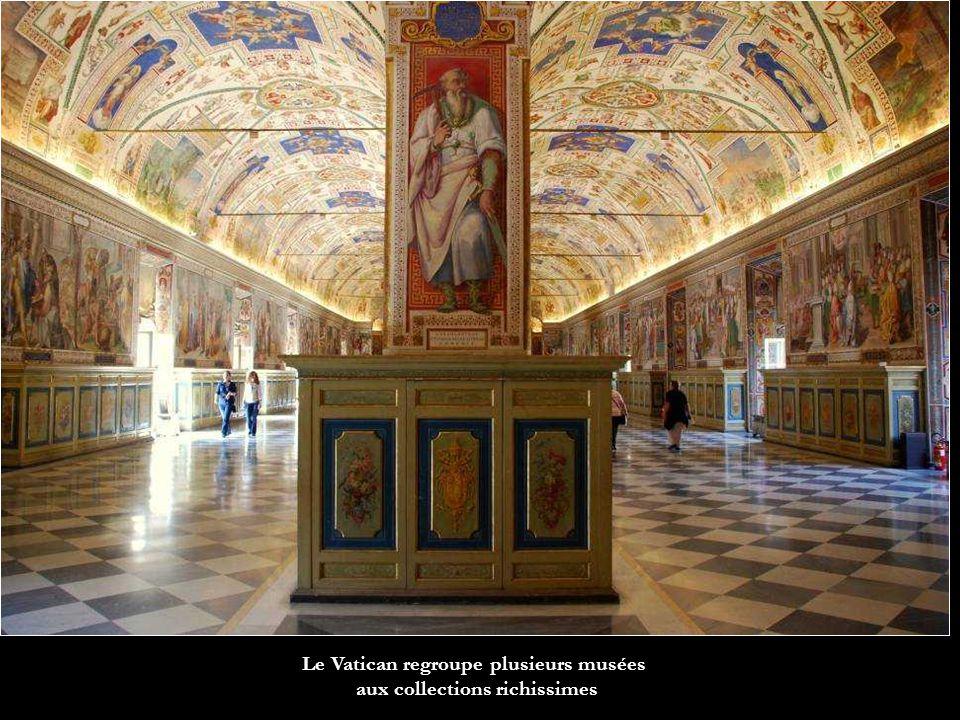Le Vatican regroupe plusieurs musées aux collections richissimes