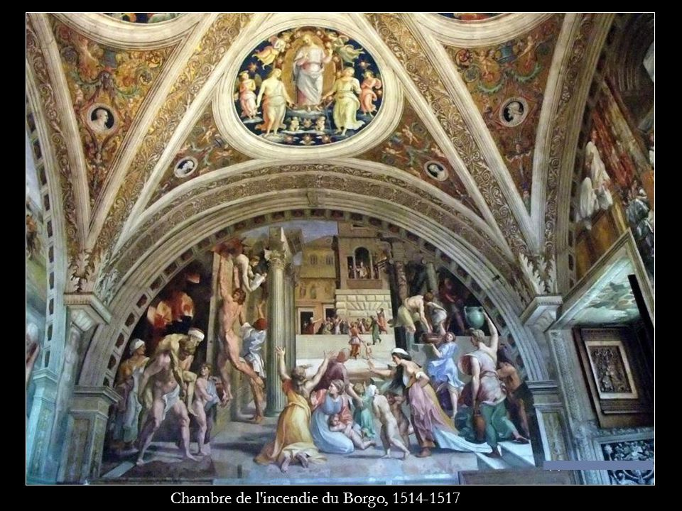 Chambre de l'incendie du Borgo, 1514-1517