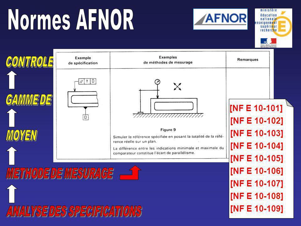 [NF E 10-101] [NF E 10-102][NF E 10-103][NF E 10-104][NF E 10-105][NF E 10-106][NF E 10-107][NF E 10-108][NF E 10-109]