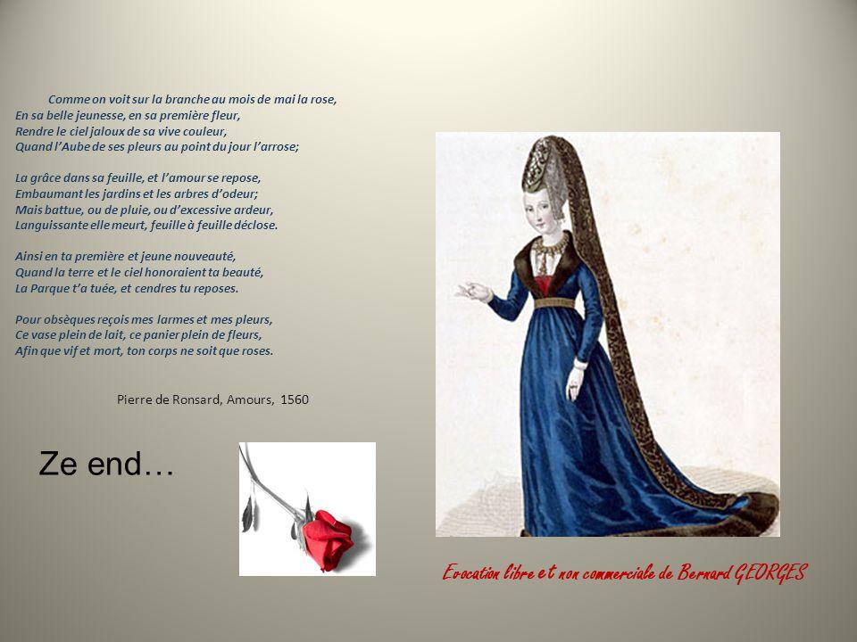 Ainsi se termine La brève histoire dune Dame de Beauté en 1450