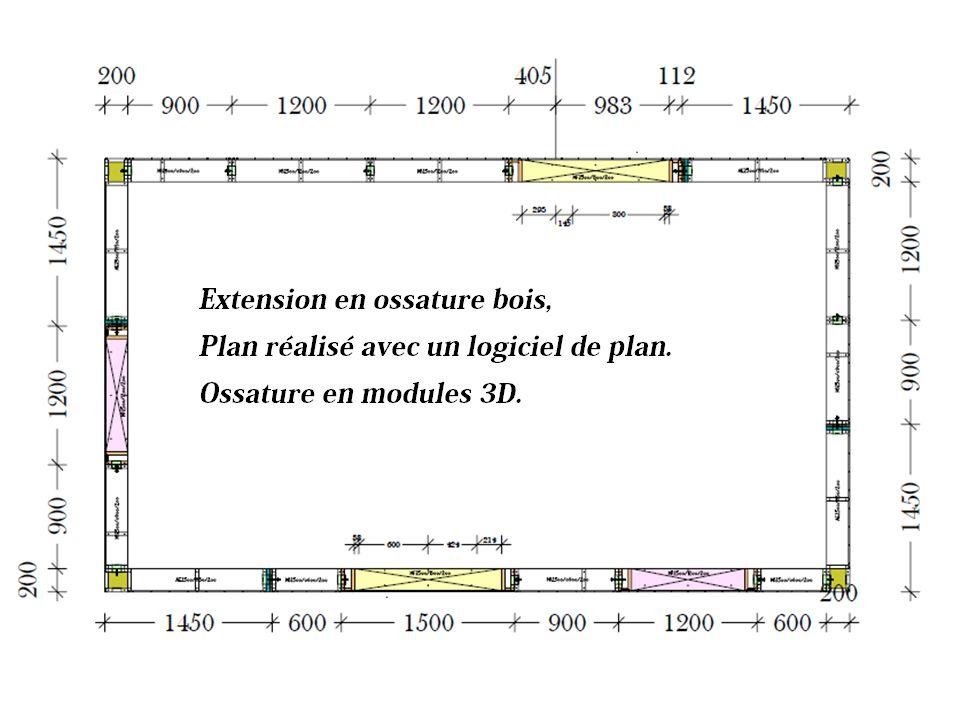 REALISATION DUNE EXTENSION 23 Construisez en ossature bois .
