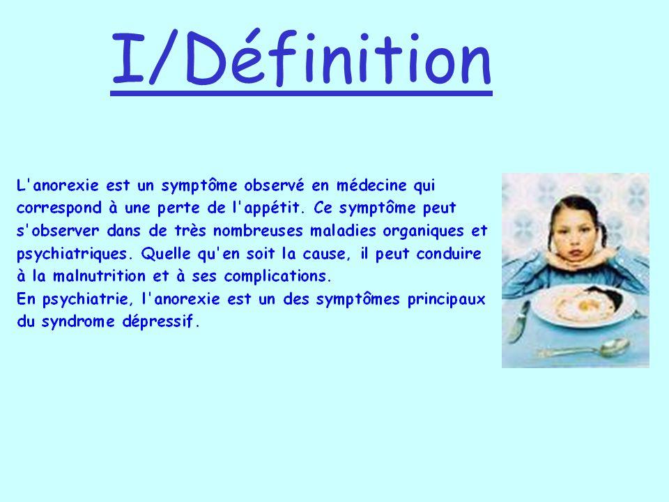 I/Définition