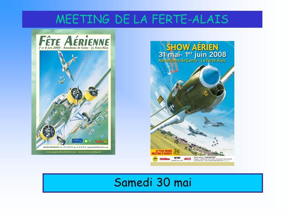 MEETING DE LA FERTE-ALAIS Samedi 30 mai
