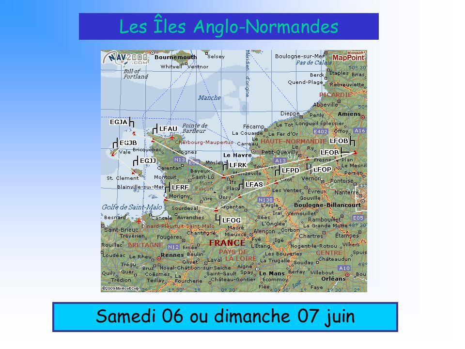 Les Îles Anglo-Normandes Samedi 06 ou dimanche 07 juin