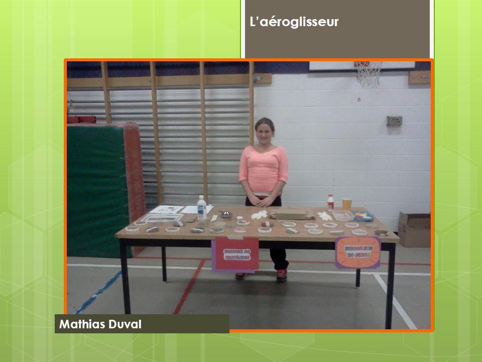 Laéroglisseur Mathias Duval