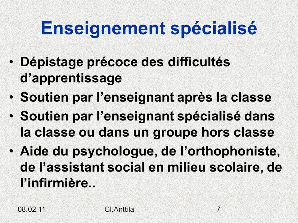 08.02.11Cl.Anttila18 Budget par élève 1- Enseignement 66 2- Transport 4 3- repas 8 4- assistants 3 5- administration 5 6- bâtiment/équipement 14