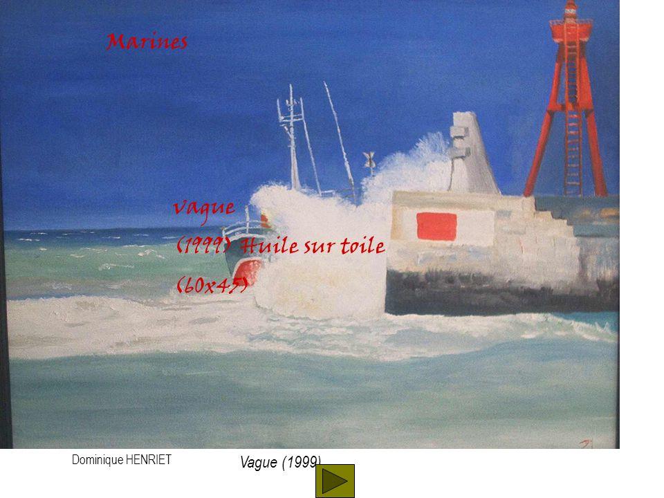 Dominique HENRIET Marines Sein (2000) Huile sur toile (60x45) Sein(2000)