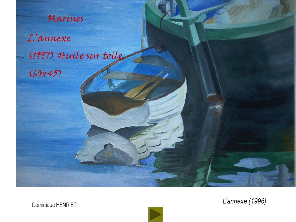 Dominique HENRIET Paysages Pin (1993) Huile sur toile (45x30) Pin (1993)