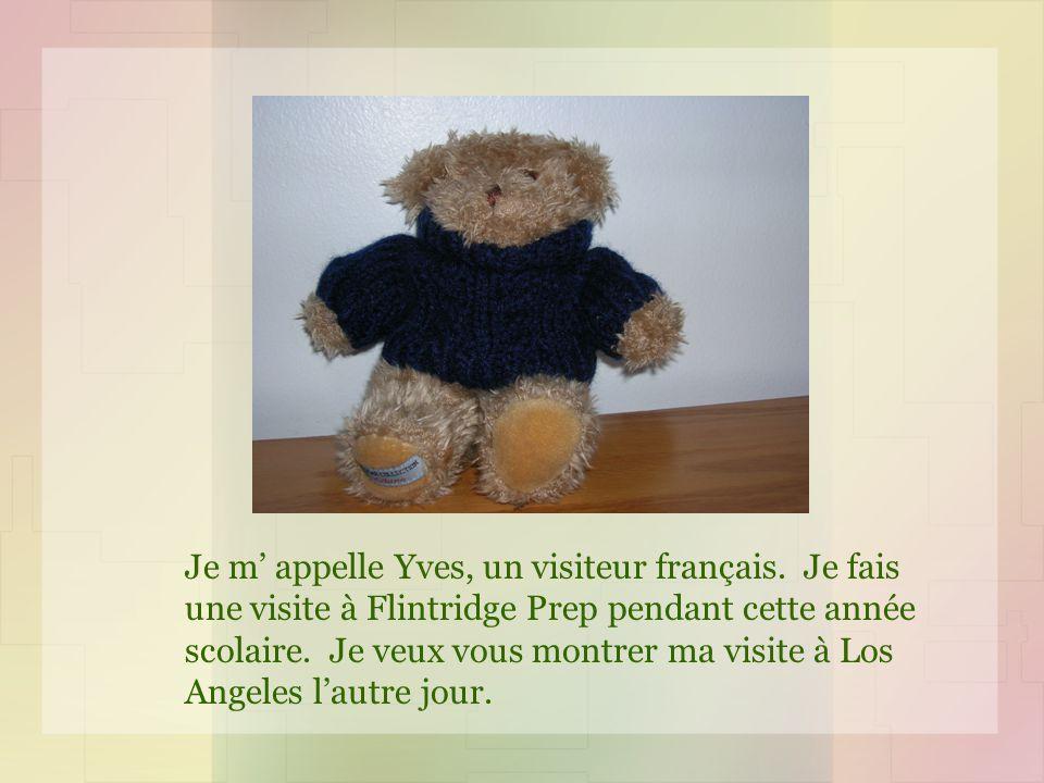 Je m appelle Yves, un visiteur français.