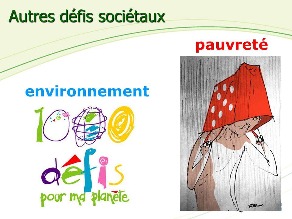 14 pauvreté environnement Autres défis sociétaux