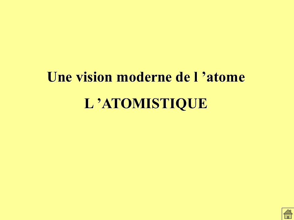 Une vision moderne de l atome L ATOMISTIQUE Titre: latomistique