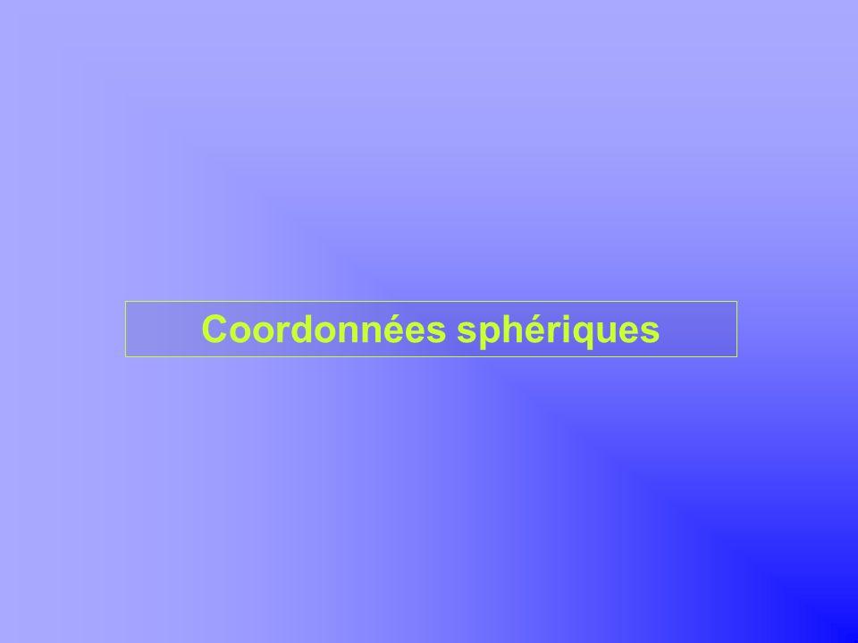 Coordonnées sphériques Khayar-marrakh