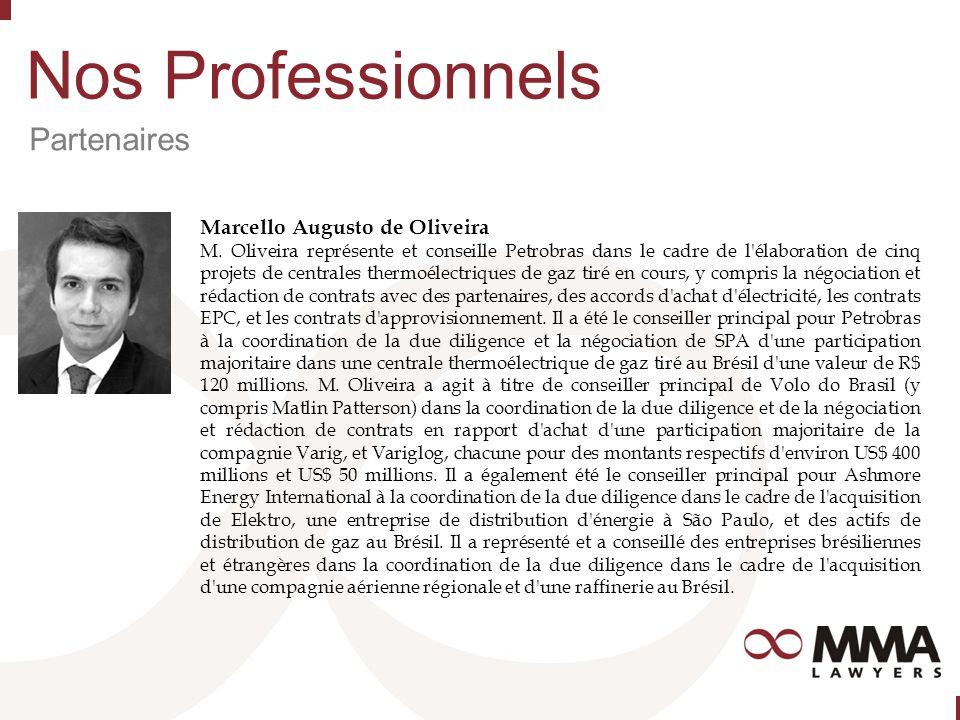 Nos Professionnels Partenaires Marcello Augusto de Oliveira M.