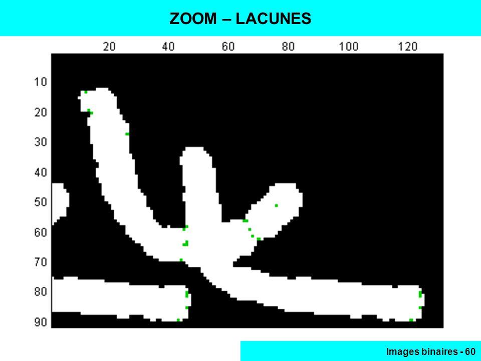 Images binaires - 60 ZOOM – LACUNES