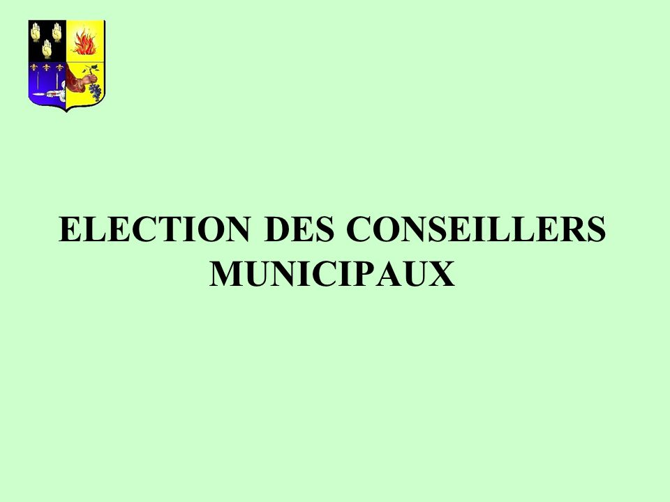 Le régime du scrutin plurinominal majoritaire avec panachage demeure, mais : - Déclaration des candidats obligatoire.