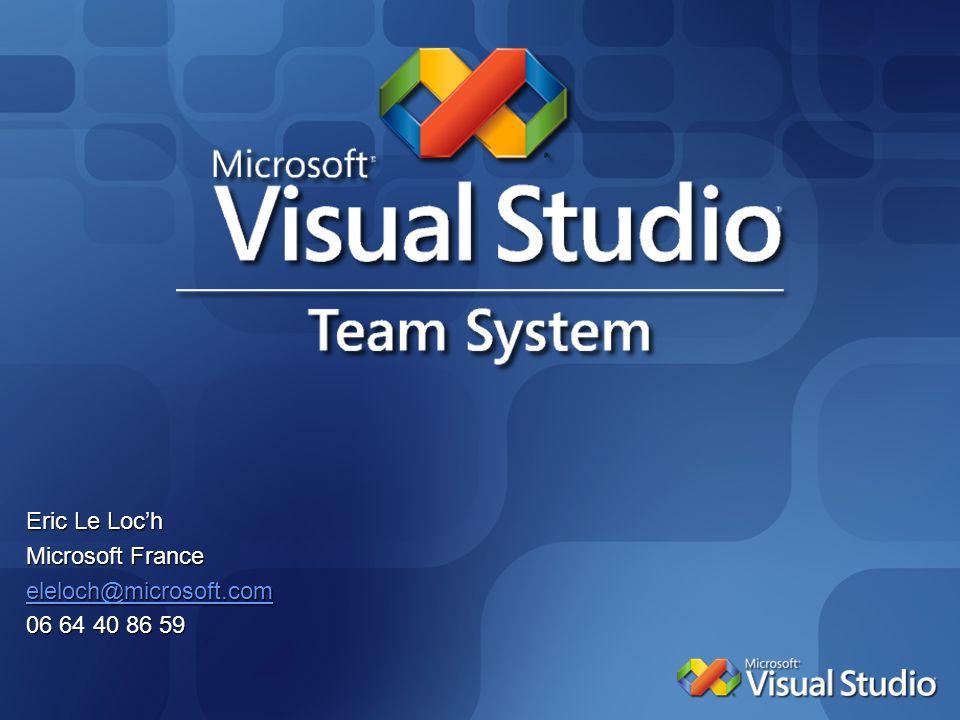 Eric Le Loch Microsoft France eleloch@microsoft.com 06 64 40 86 59