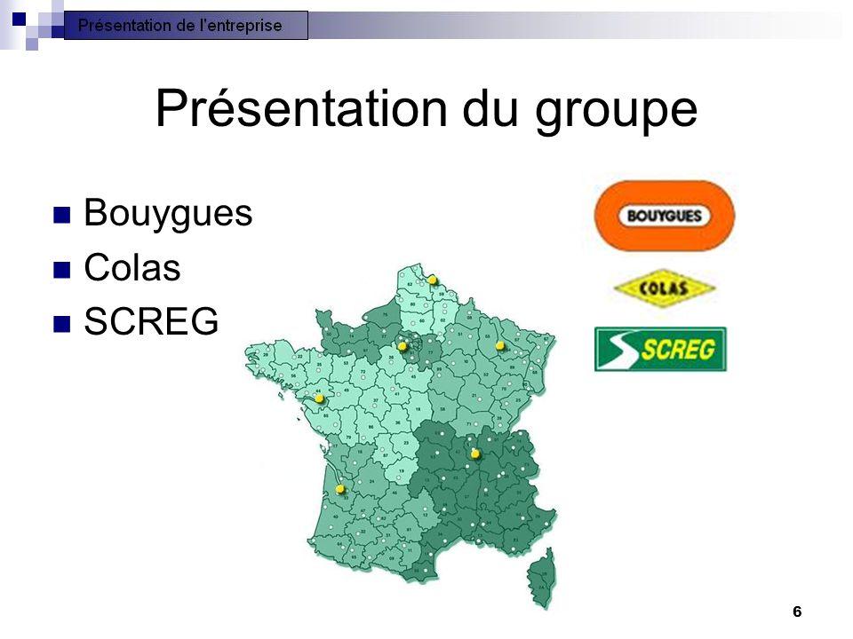 6 Présentation du groupe Bouygues Colas SCREG