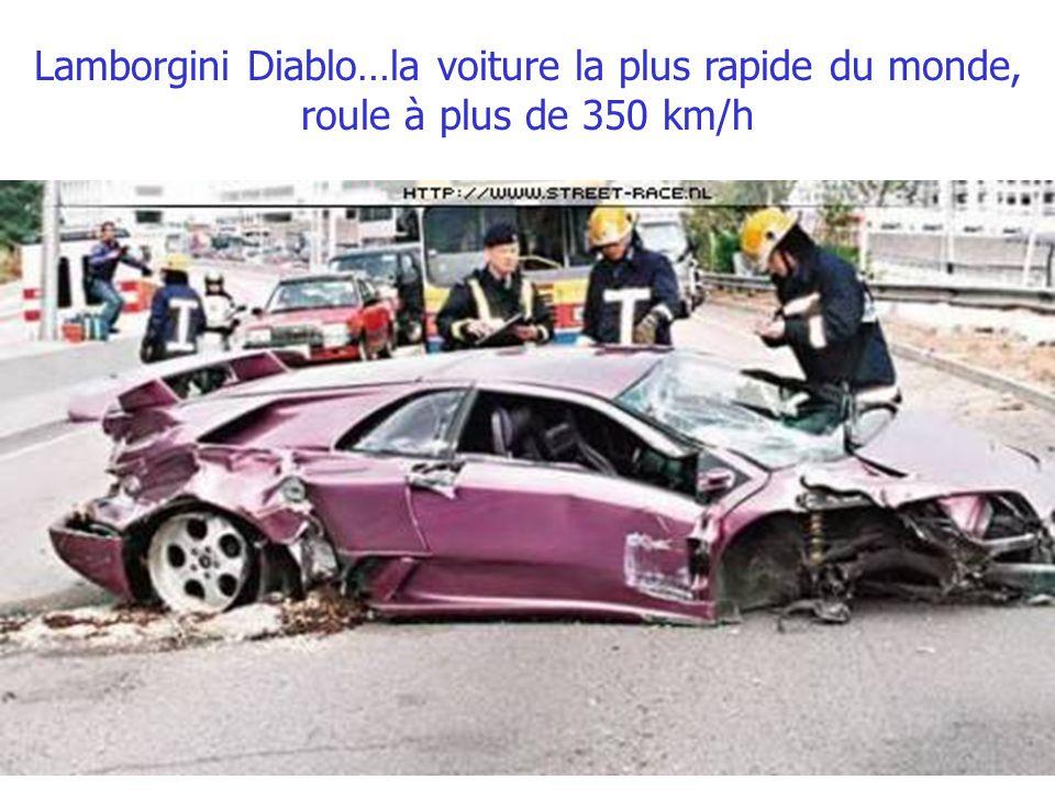 Les voitures allemandes ? Soit disant les plus sécurisantes de la planète…un Mercedes SLK..