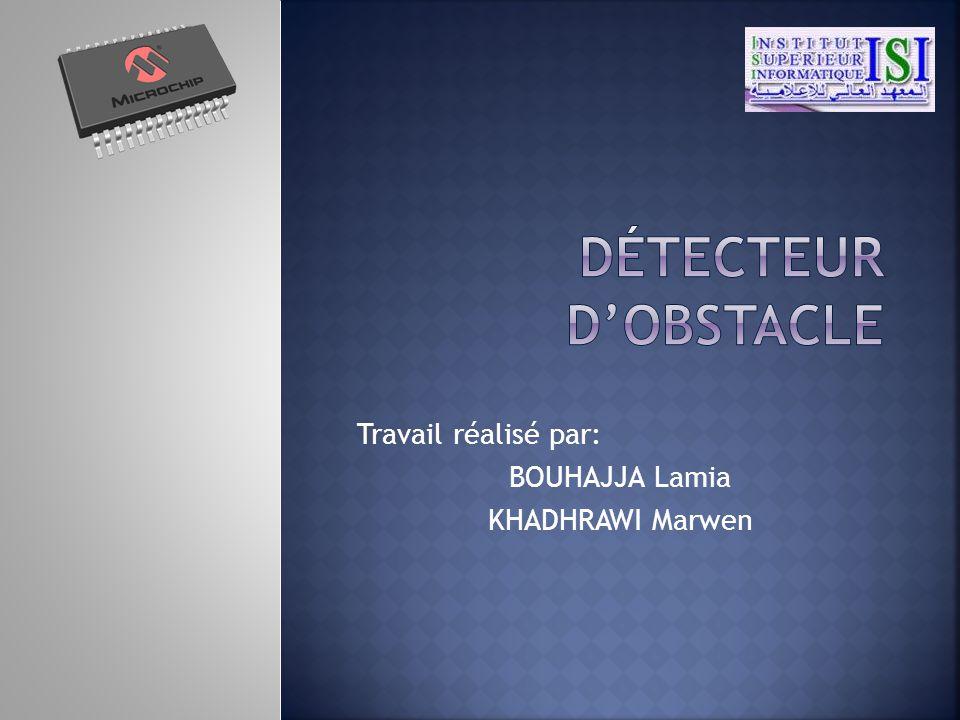 Travail réalisé par: BOUHAJJA Lamia KHADHRAWI Marwen