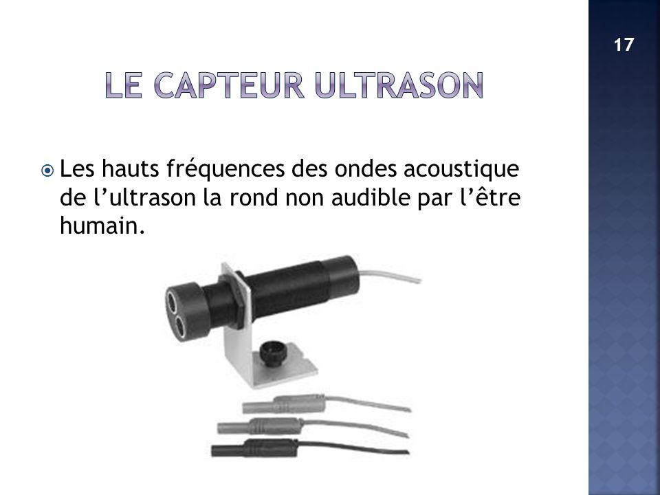 Les hauts fréquences des ondes acoustique de lultrason la rond non audible par lêtre humain. 17