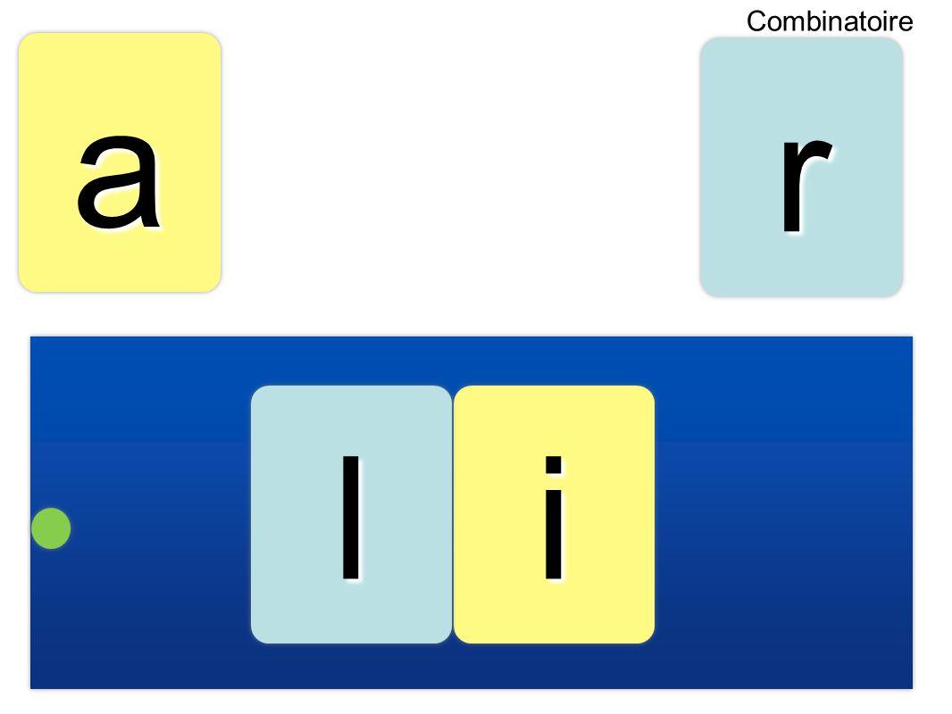 aa ii rr ll Combinatoire