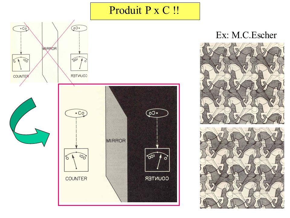 Produit P x C !! Ex: M.C.Escher