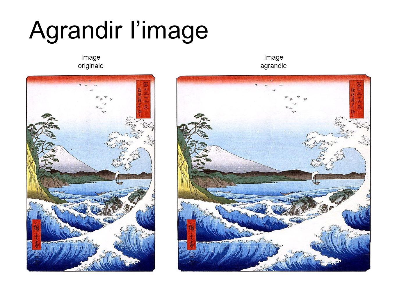 Agrandir limage Image originale Image agrandie