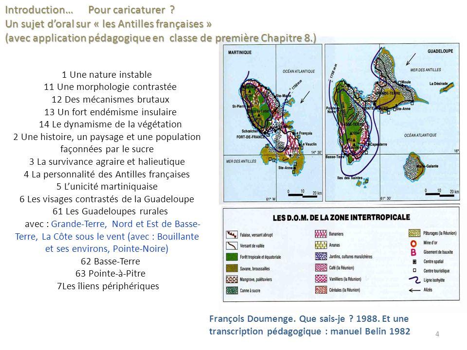 Extrait des rapports 2006 : « Enseigner le paysage : un village africain », 6 ème 1/ « Lintroduction précise clairement le statut du paysage comme objet et outil de lanalyse géographique dune part et comme support denseignement dautre part.