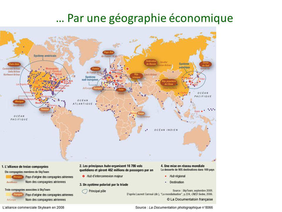 … Par une géographie économique