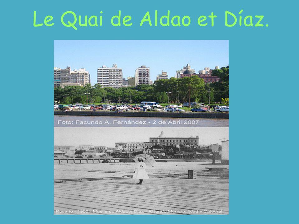 Le Quai de Aldao et Díaz.