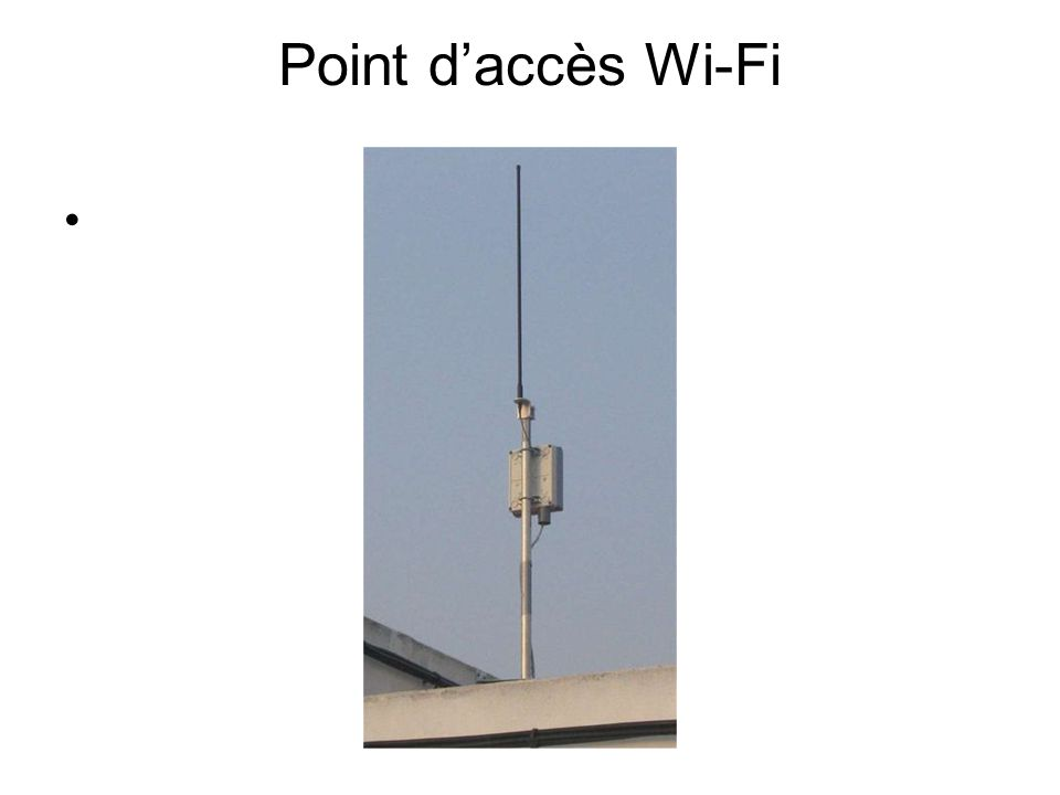 Point daccès Wi-Fi
