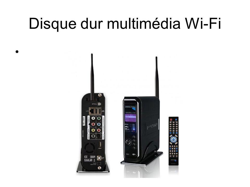 Disque dur multimédia Wi-Fi