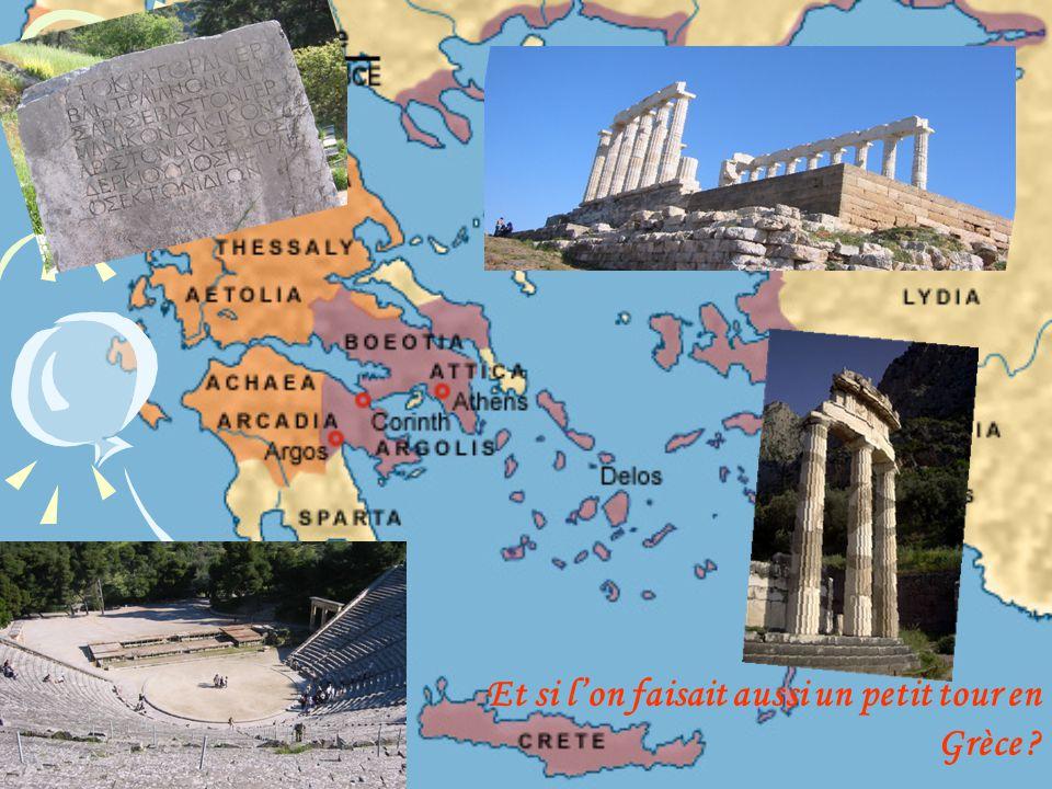 Et si lon faisait aussi un petit tour en Grèce ?