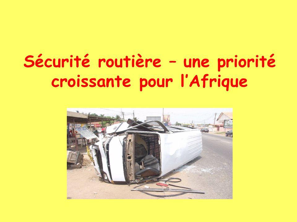 Sécurité routière – une priorité croissante pour lAfrique