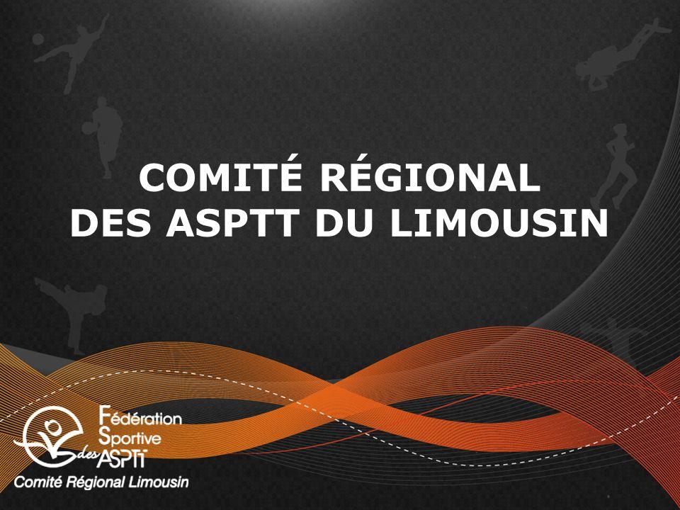 COMITÉ RÉGIONAL DES ASPTT DU LIMOUSIN