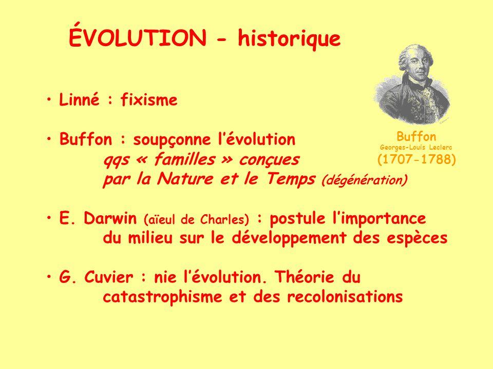 ÉVOLUTION - historique >< Jean-Baptiste de Lamarck (1744-1829)