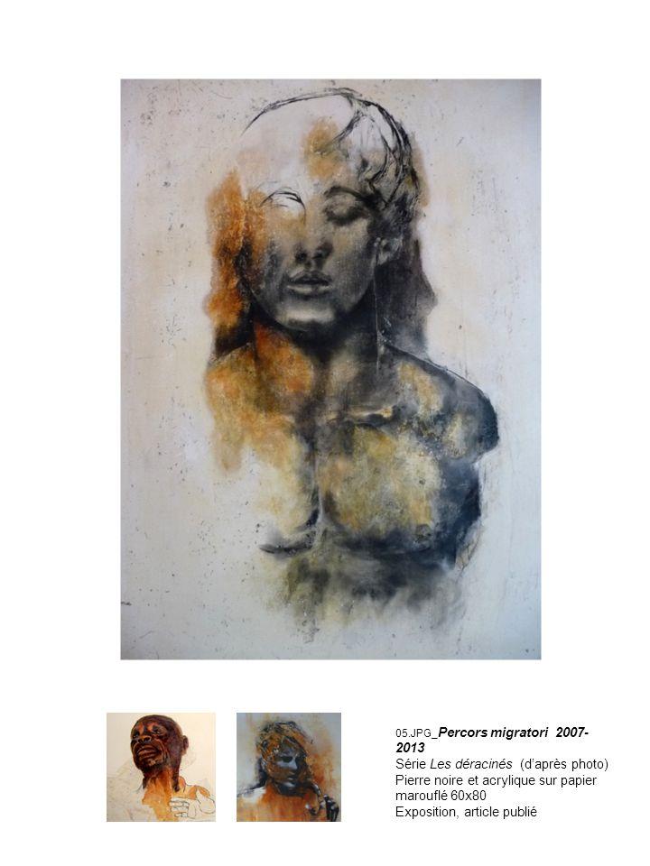06.jpg Comme un arbre (2009-en cours) Pierre noire et fusain sur papier.