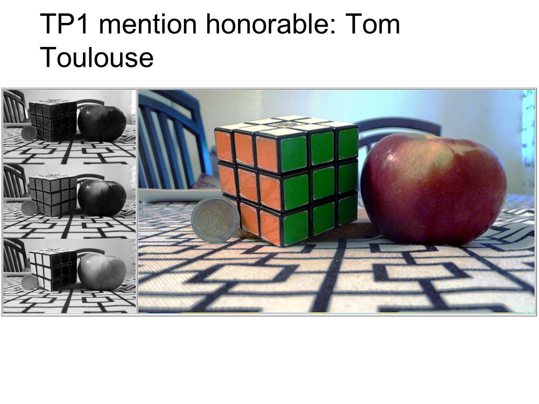 TP2: meilleur projet Tom Toulouse.