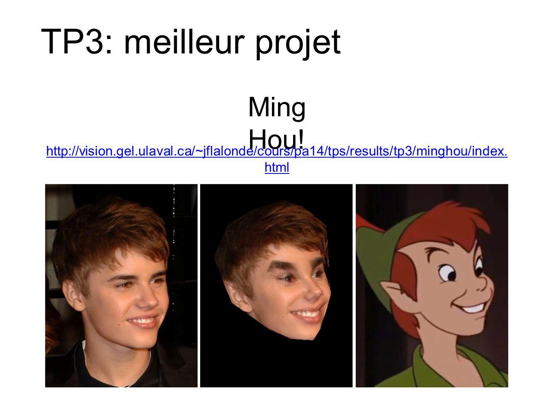 TP3: meilleur projet Ming Hou.