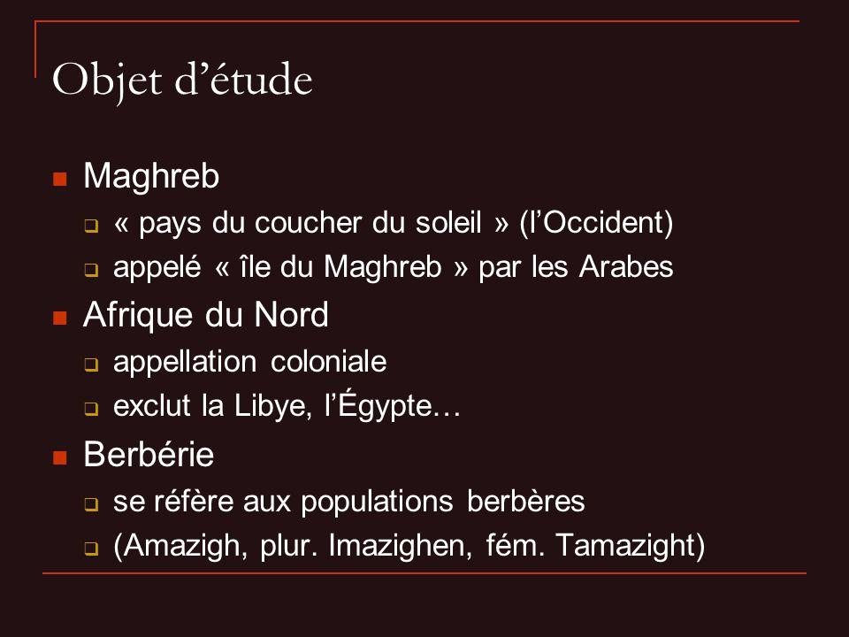 II. Géographie du Maghreb