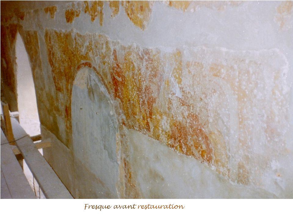 Musique : Forest Gump Automatique Restauration de la fresque dans léglise de Saint-Philbert-sur-Risle