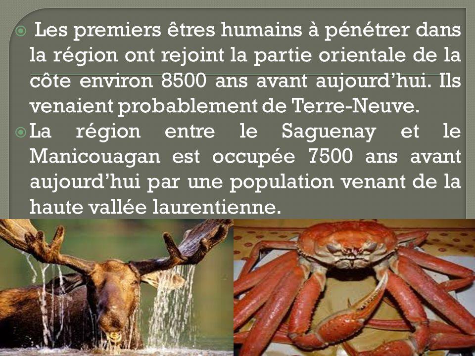 Les premiers êtres humains à pénétrer dans la région ont rejoint la partie orientale de la côte environ 8500 ans avant aujourdhui.