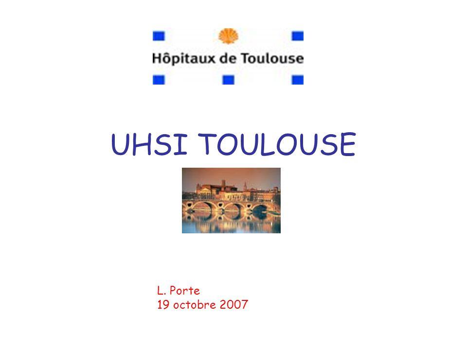 DES UHSI… La dernière née Après Nantes, Lyon, Lille, Bordeaux, Marseille En gestation: Paris, Rennes