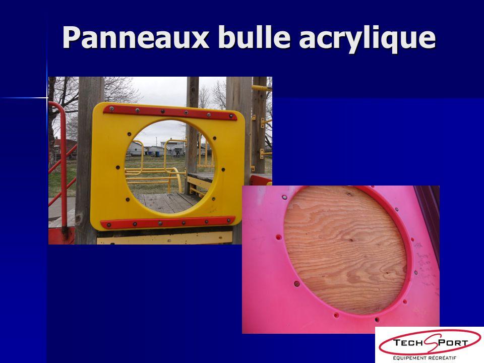 Panneaux bulle acrylique