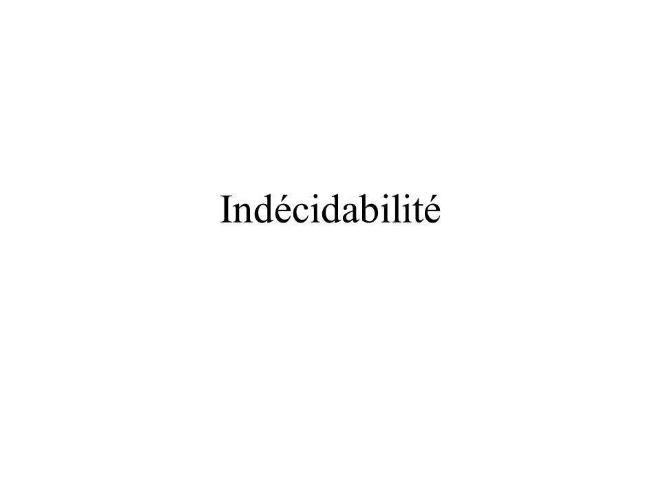 Indécidabilité