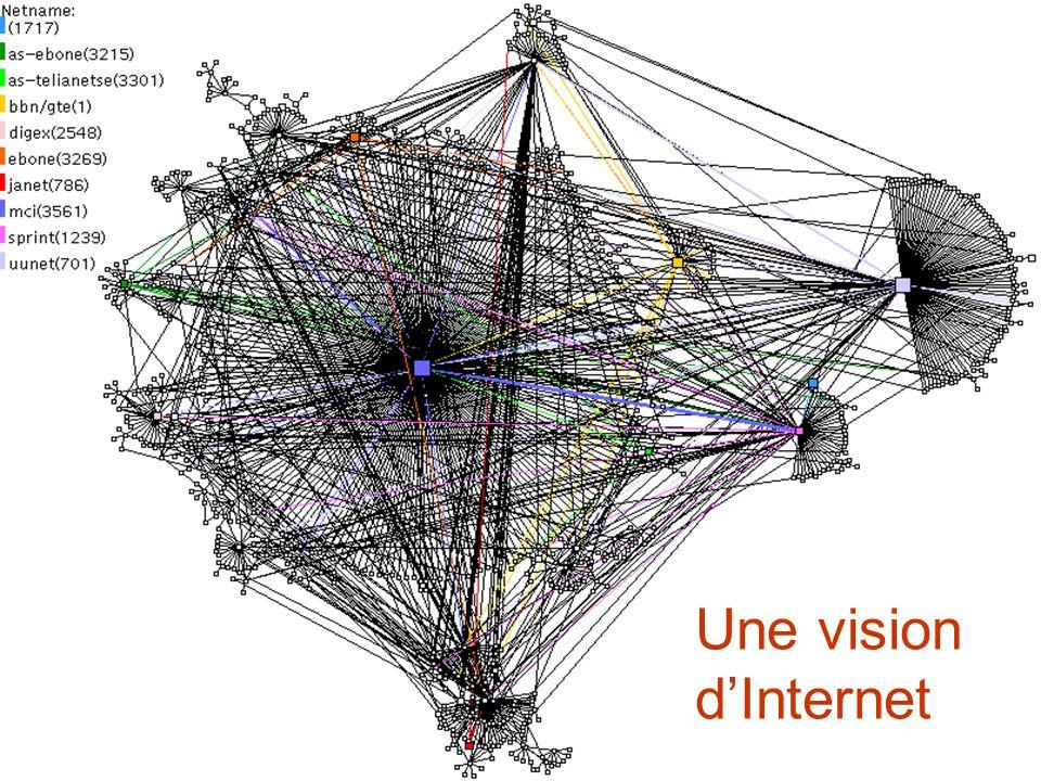 Virus sur ordinateursTopologie dInternet Computer worms Topologie du réseau d email Importance de la topologie du réseau de contacts Epidémiologie Topologie du réseau de transports/déplacements