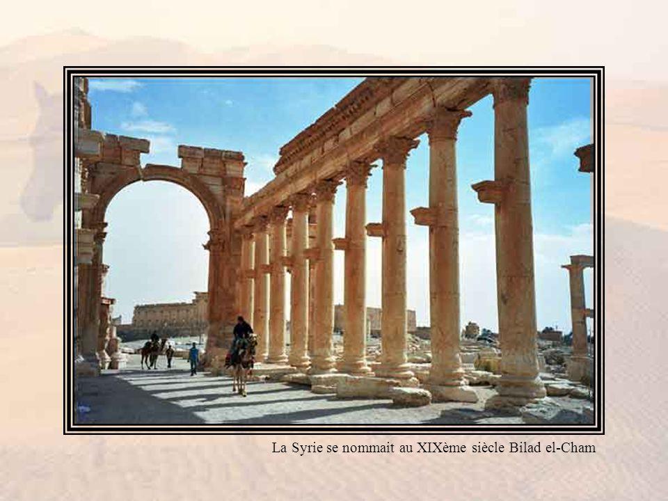 Le pittoresque de la Syrie est aussi violent que son histoire, qui retentissait encore du nom de Roustam et de ses éléphants et de celui du grand Tamburlaine.